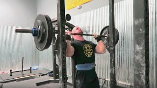 Pete Rubish - 280lbs Strict OHP Attempt