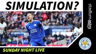 Did Jamie Vardy practice diving in training? | Spurs 3-1 Leicester | Astro SuperSport