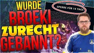 Wurde Broeki zurecht Gebannt? [League of Legends] [Deutsch / German]
