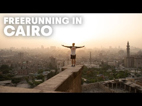 Freerunning Cairo's Most Amazing Places | w/ Dominic Di Tommaso