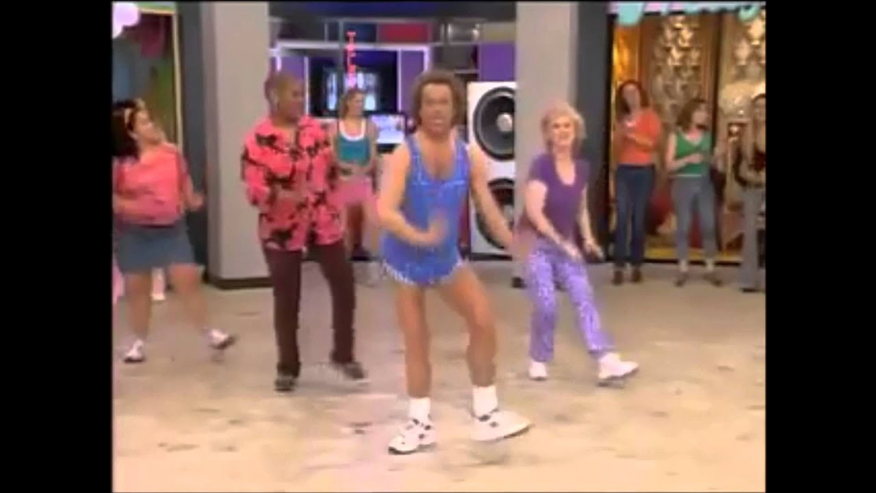 facial exercises by richard simmons