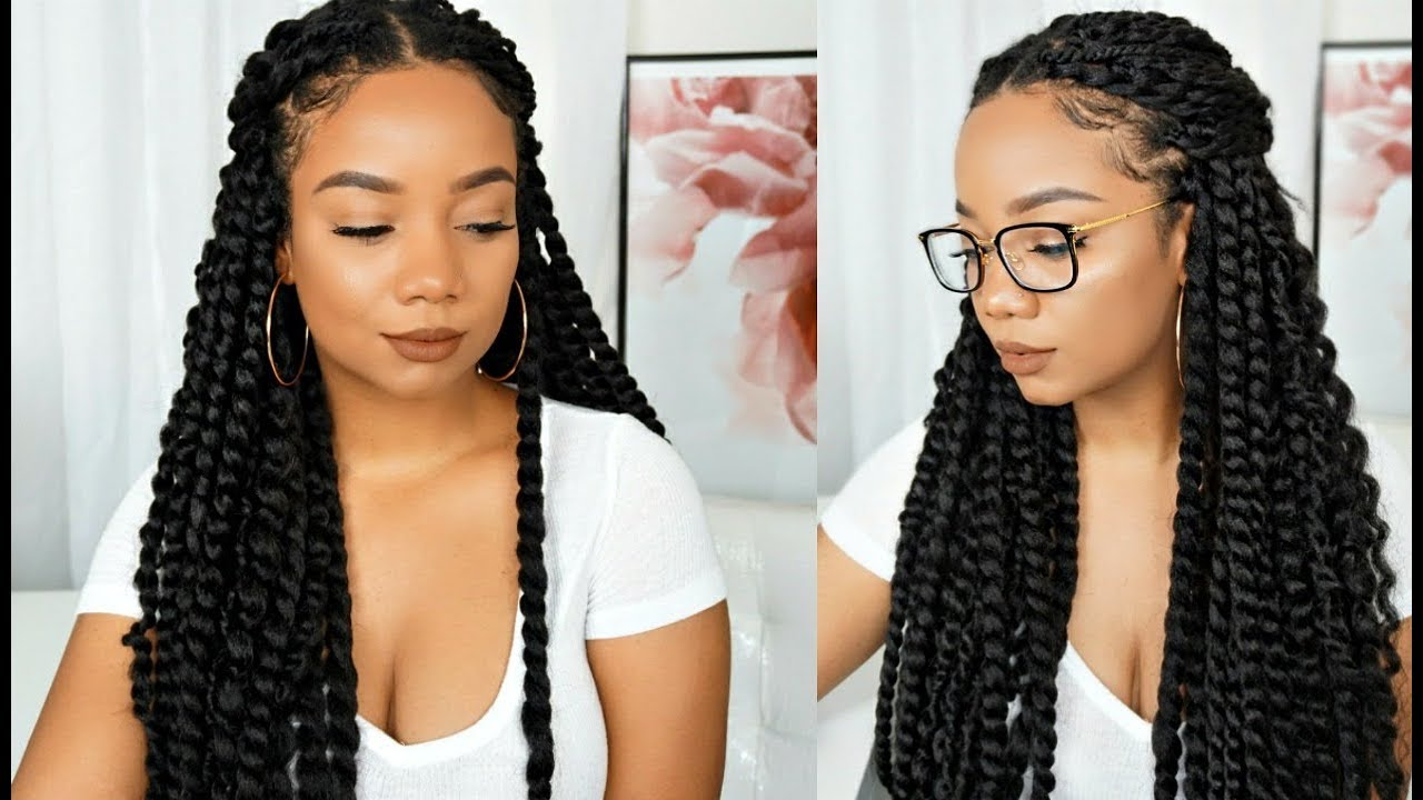 Super Quick Crochet Authentic Jumbo Senegalese Twist