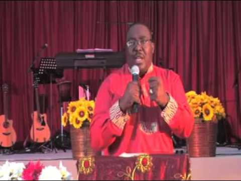 Bishop Eddy Stanley Engena Maitum at AGCM Church