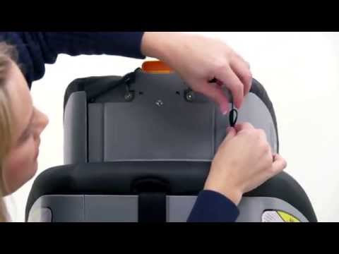 NextFit User Guide : Removing the Seat Padding