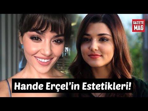 Hande Erçel'in estetikleri ve dünü bugünü!