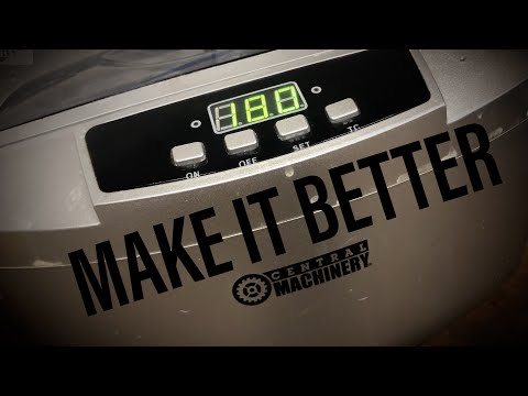 Harbor Freight Ultrasonic Cleaner Improvement..
