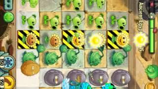 Super Mega gameplay[Plants vs Zombies #1]