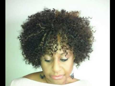 Crochet Hair On Short Hair : Short Crochet Weave - YouTube