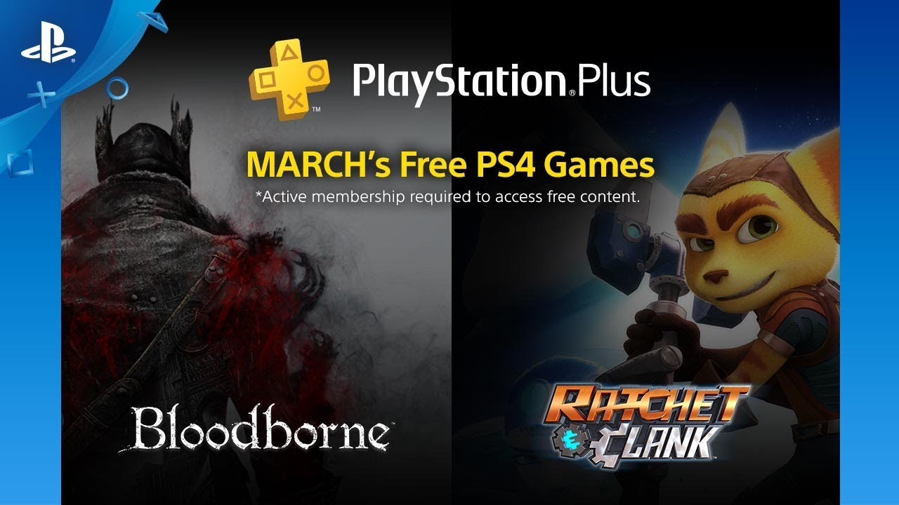 Ps4 Free Games March 2020.Playstation Plus Free Ps4 Games Lineup March 2018 Ps4