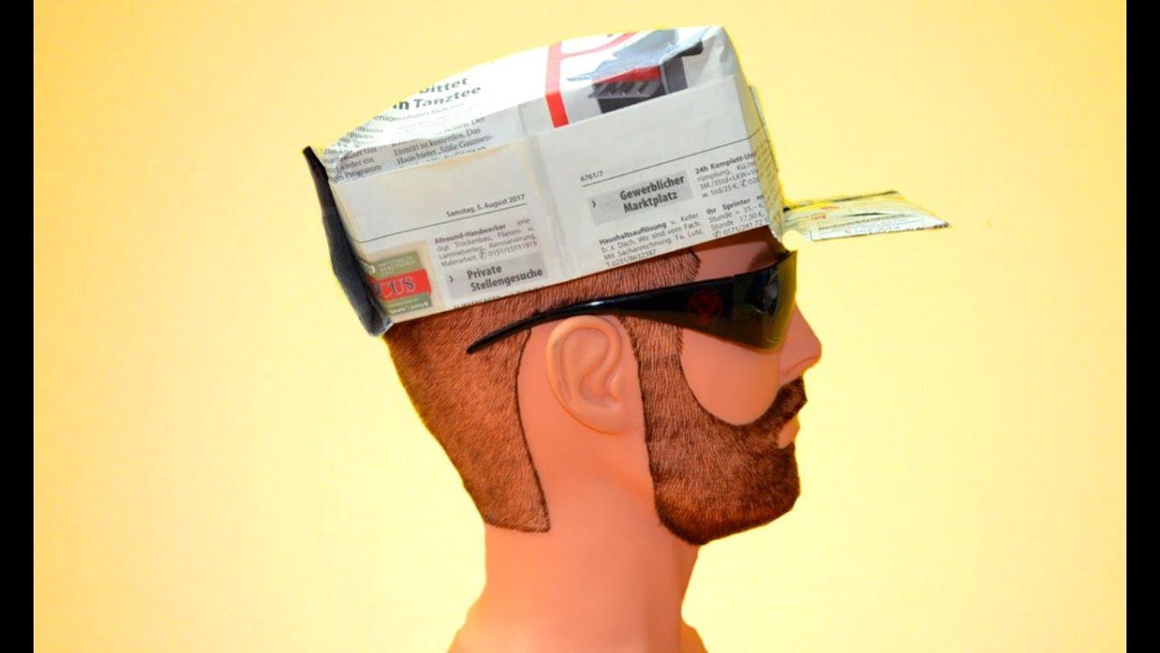 Como hacer una gorra de papel by FUN4YOU TV 4fcc3d46281