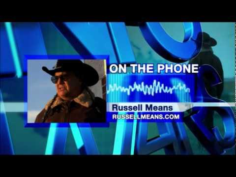 InfoWars Nightly News w/ Alex Jones: Oct 18, 2011 - Russell Means