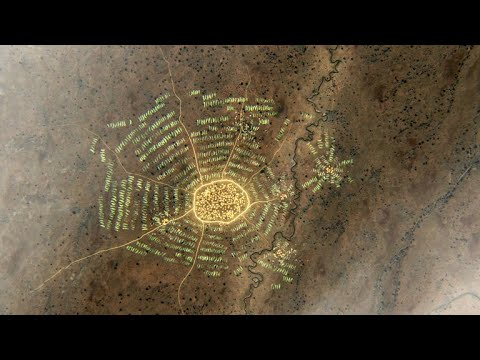 World's First City Discovered by U.S. Spy Satellite