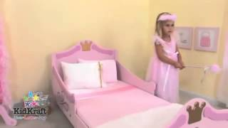 Girls Pink Princess Toddler Bed Kidkraft 76139 Http Wooden Toys Direct Co Uk