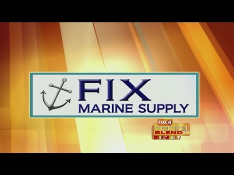 Marine Minute - Fix Marine Supply: How to maintain your boat lift 05/25/2015