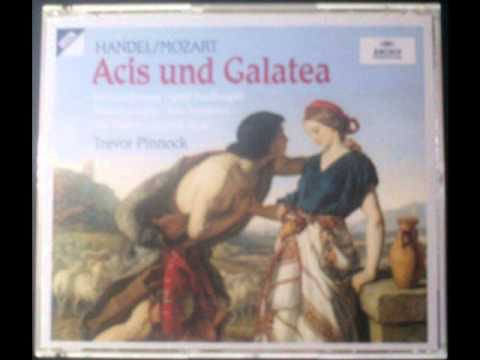 """Handel / Mozart """"Wretched Lovers"""" (In German, from """"Acis and Galatea"""") - Trevor Pinnock"""