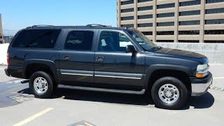 2003 Chevrolet Suburban 2500 8.1L V8 4x4 LT 2 Owner Big Block Loaded Leather Suburban