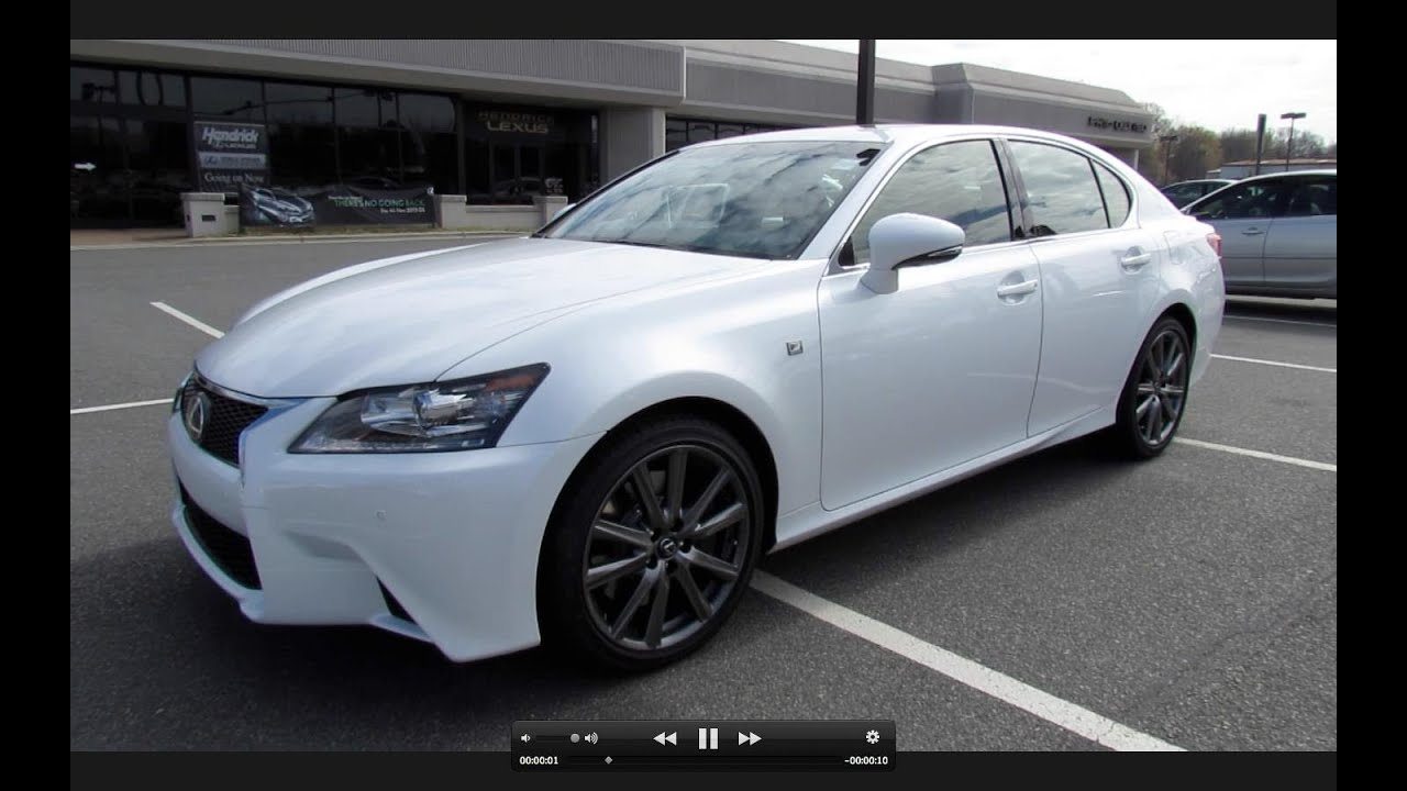 2013 Lexus GS350 F Sport Start Up, Exhaust, And In Depth Review   YouTube