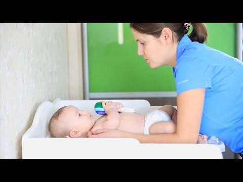 Массаж для ребенка первого года жизни - часть 1
