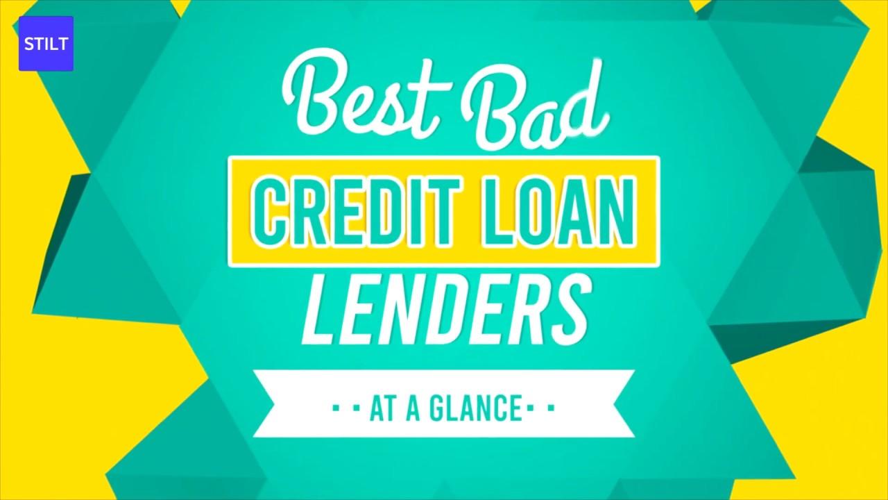9 Best Bad Credit Loan Options January 2020