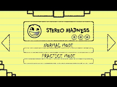 PAINT STEREO MADNESS (PAPER VERSION!) | Geometry Dash 2.1 | SirKaelGD