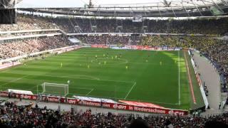 Hannover/Dortmund Football Match - Final 6 Minutes - 18.09.11