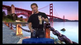Пушистик Байла Урок 5 - Прыжки из стакана