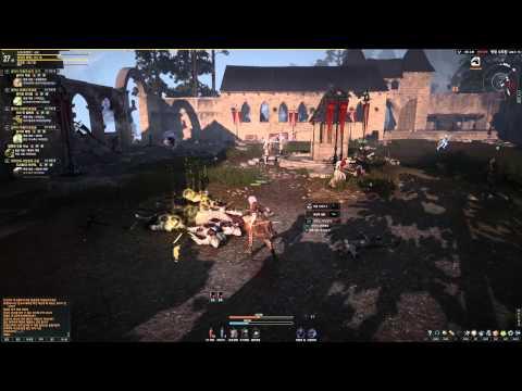 Black Desert Online 2nd Beta Killing Enemy Knights HD