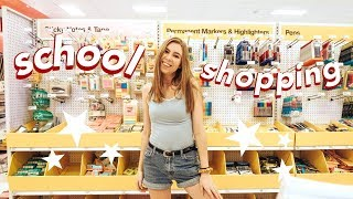 School Supply Shop With Me 2018!