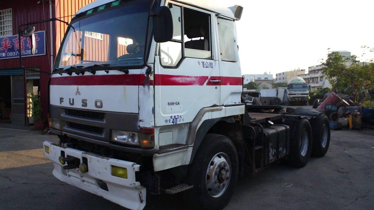1994 FUSO USED TRACTOR HEAD 648 GA