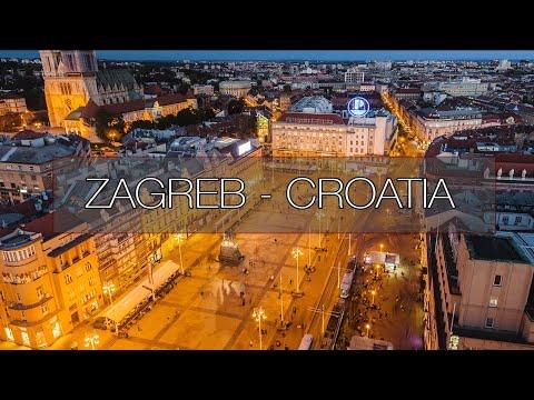 ZAGREB - CROATIA in 4K