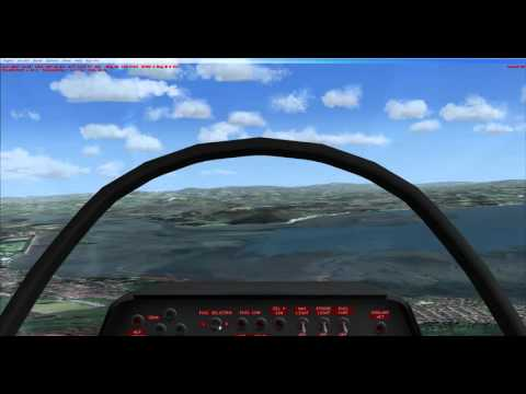 FSX(Flight Sim) UK Adventures Walney Islands to Warton VFR HORIZON PHOTO SCENERY HD
