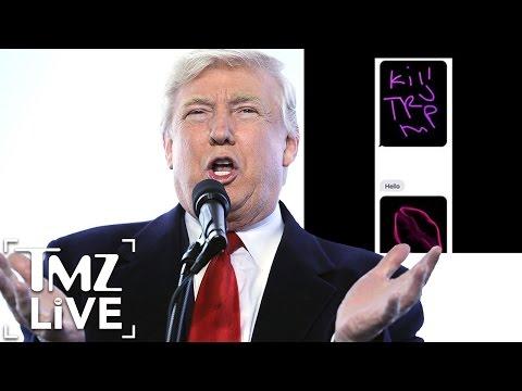 SECRET SERVICE Investigates DONALD TRUMP Threat (TMZ Live)