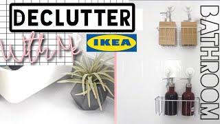 Declutter With Me |  Ikea Bathroom  Minimalism 2018