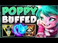 watch he video of WTF! POPPY NO LONGER A TANK AFTER THESE BUFFS? POPPY SEASON 8 TOP GAMEPLAY! - League of Legends