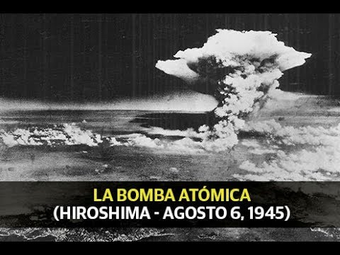 La bomba atómica: Hiroshima 73 años