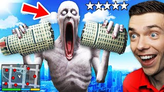 Playing As SCP-096 To DESTROY GTA 5 (Crazy)