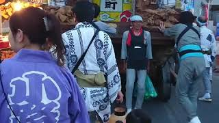 小見川祇園祭  小路町  巡行・踊り ※編集あり  2018.7.22.