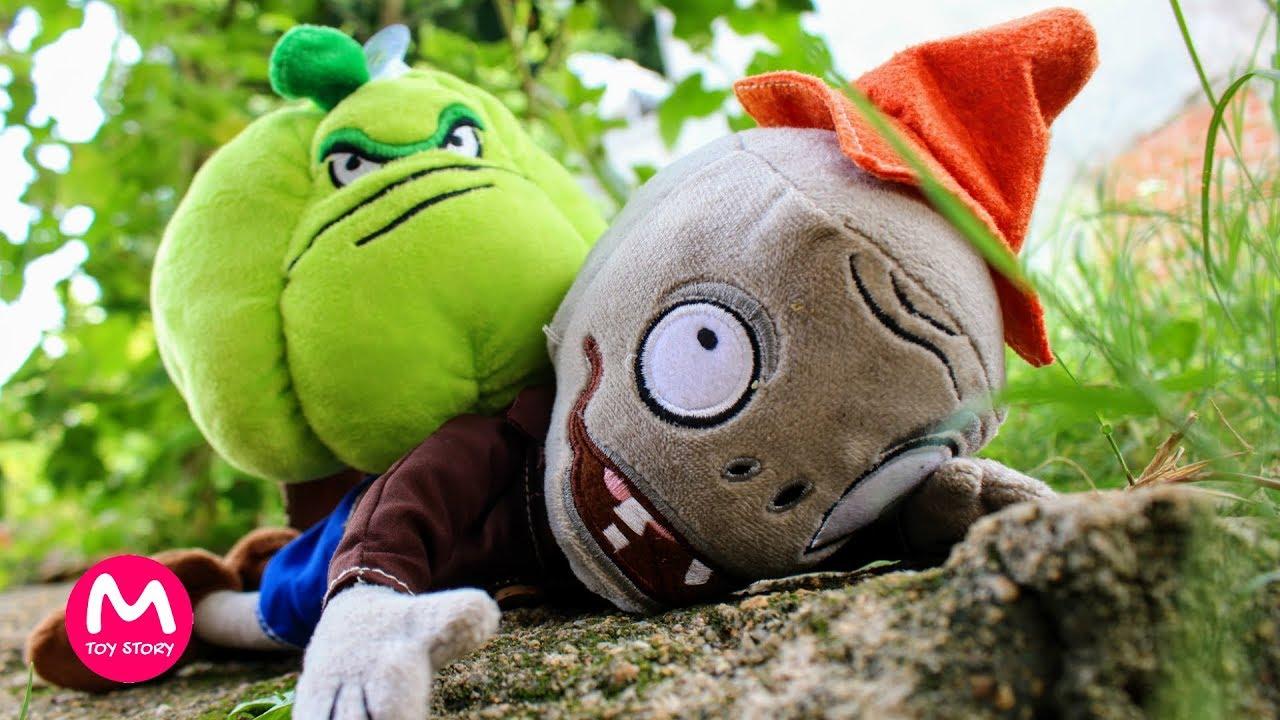 Plants Vs Zombies Garden Warfare Plush Toy Wall-nut Soft Doll