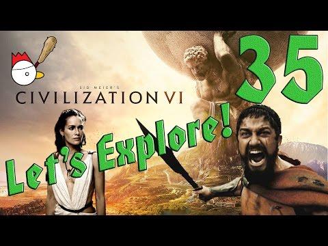 CIVILIZATION VI [ITA] Let's Explore 35# - QUESTA È SPARTAAAAA!