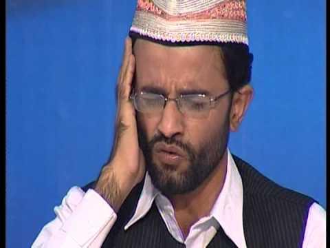 Surah Fatiha/Naas recited by Qari Muhammad Zeeshan Haider @ Atv Night Transmission 2012