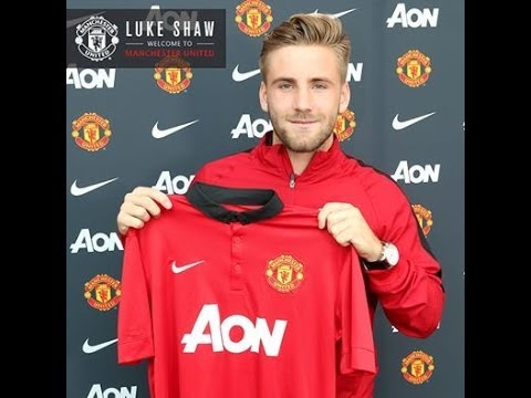 Luke Shaw ● Welcome to Manchester United ● Best Assists, Skills, and Crosses Ever HD