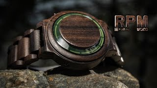 Cool Wood Watch - Kisai RPM Wood LED Watch from Tokyoflash Japan