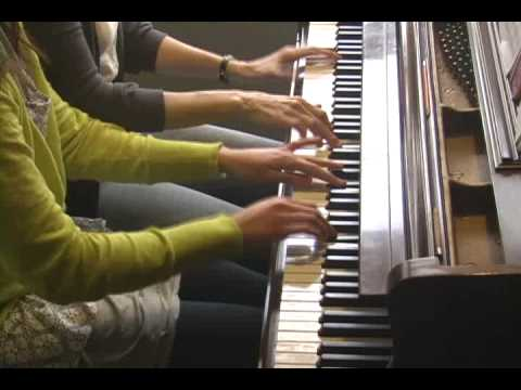 peter and the wolf piano four hands youtube. Black Bedroom Furniture Sets. Home Design Ideas