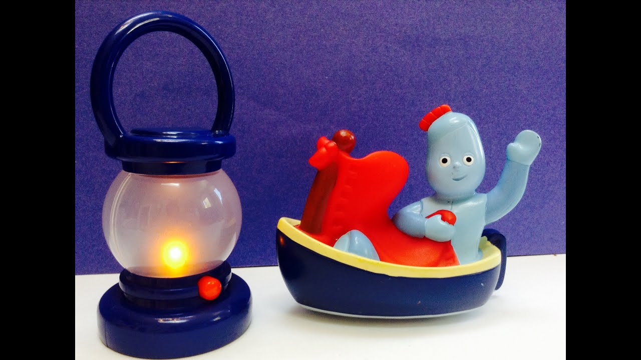 In The Night Garden Iggle Piggle Sails Away on Boat with Light Toy  YouTube
