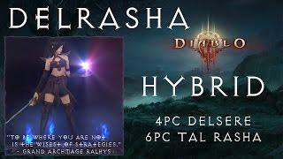 Diablo 3 - Delrasha - GR50+ - 4pc Delsere + 6pc Tal Rasha - Wizard Build [2.2]