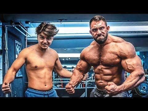 Kevin Wolter zerstört Talha! Bodybuilder vs YouTuber!