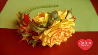 Ободок Осеннее Настроение . Мастер класс / Headband Autumn mood. master Class