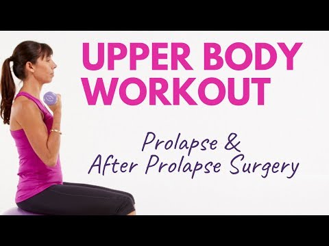 Safe Upper Body Workout for Women With Prolapse