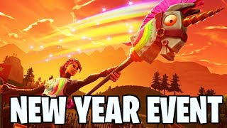 NEW YEARS EVENT *LEAKED* FORTNITE NEW LIVE EVENT (WATCH LIVE) DISCOBALL LEAKED FILES!