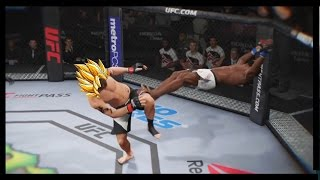 EA SPORTS UFC 2 - Best KNOCKOUT Ever Super Saiyan Kick